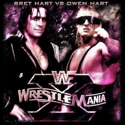 Owen Hart Funeral Vince Bret vs owen hart